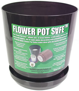 Diversion Safe Flower Pot Safe