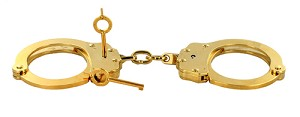 Peerless Gold Plated Handcuffs 24K