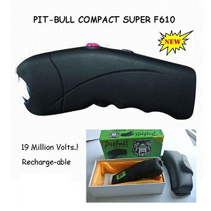 Pitbull Ladies Stun Gun 19 Million Volt Pink